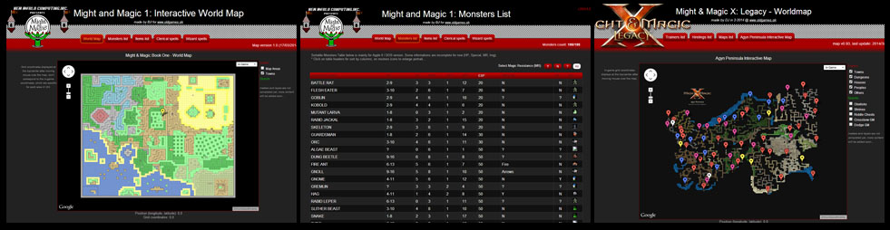 Might And Magic X World Map.Gmg Game Maps And Guides Dj Oldgames