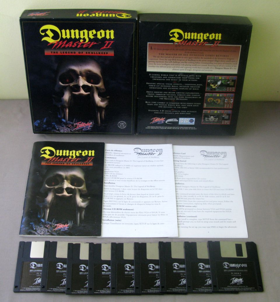 Dungeon Master 2 Box
