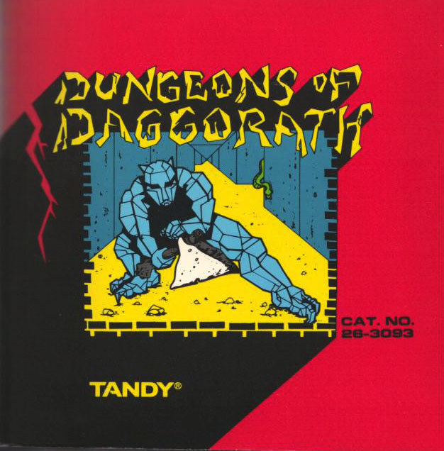 Dungeons of Daggorath Cover
