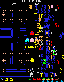 Pac-Man Split Screen