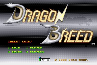 Dragon Breed for Arcade