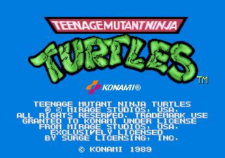 Teenage Mutant Ninja Turtles II: The Arcade Game for Arcade