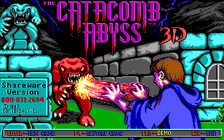 Catacomb Abyss, The for PC DOS