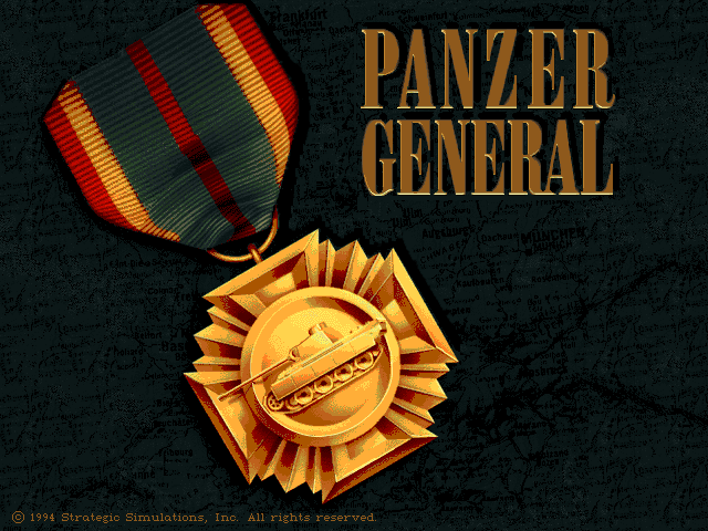 Panzer General for PC DOS