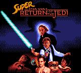 Super Star Wars: Return of the Jedi for SEGA Game Gear