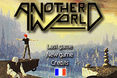 Another World (Out of this World) for Game Boy Advance