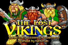 Lost Vikings, The pre Game Boy Advance