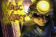 Manic Miner pre Game Boy Advance