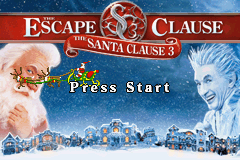 Santa Clause 3: The Escape Clause for Game Boy Advance