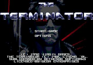 Terminator, The pre SEGA Genesis