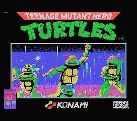 Teenage Mutant Ninja Turtles for MSX