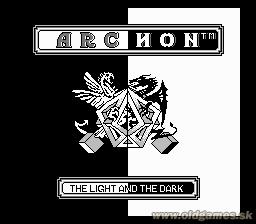 Archon: The Light and the Dark pre NES