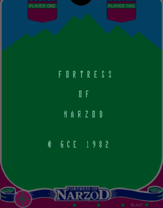 Fortress of Narzod for Vectrex