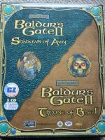 Baldur's Gate II: Shadows of Amn + Throne of Baal - CD (CZ)