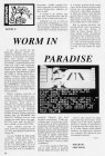 Worm in Paradise