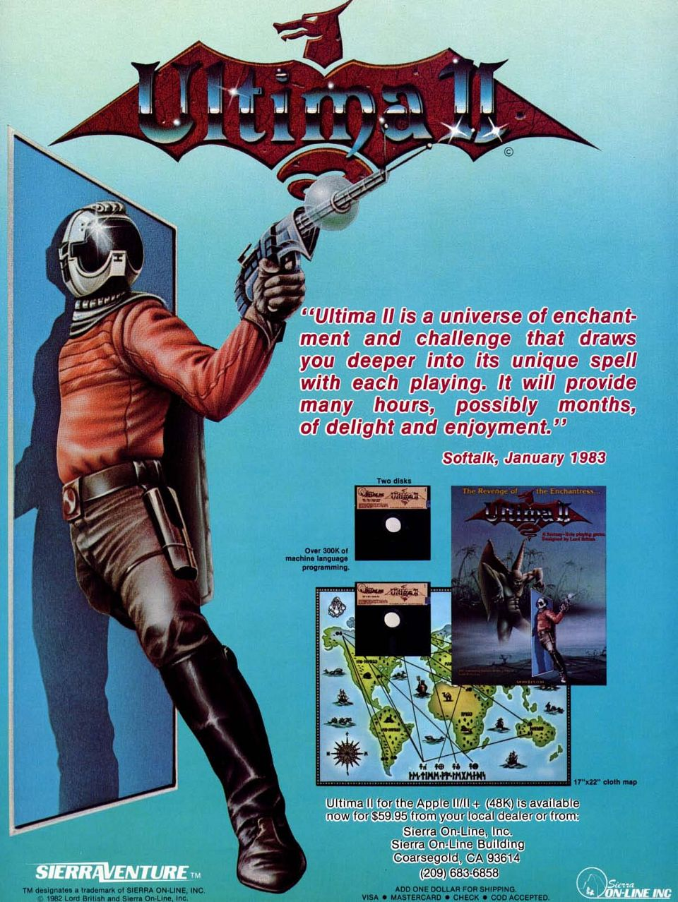 Advertisement: Ultima II