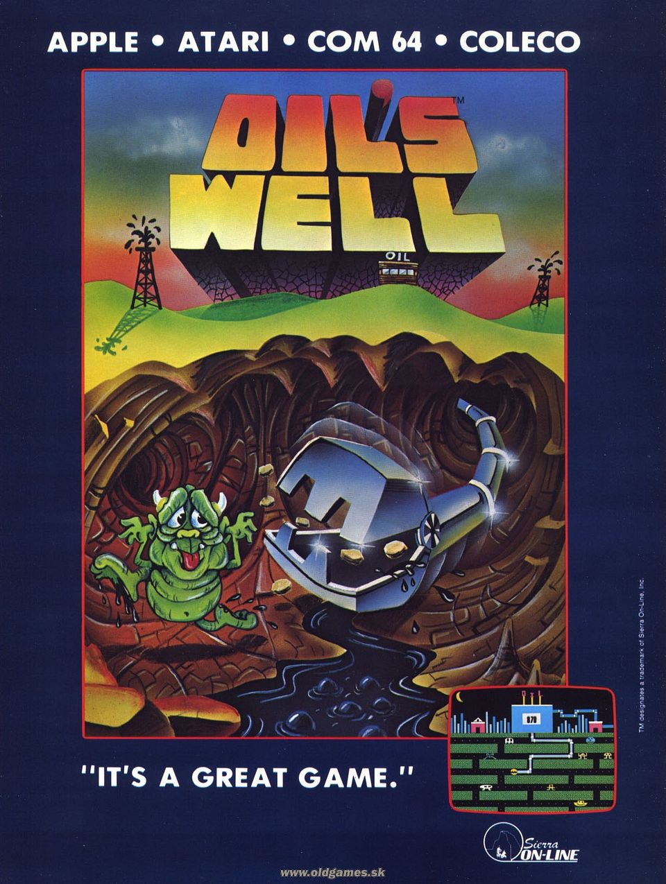 Advertisement: Oil's Well