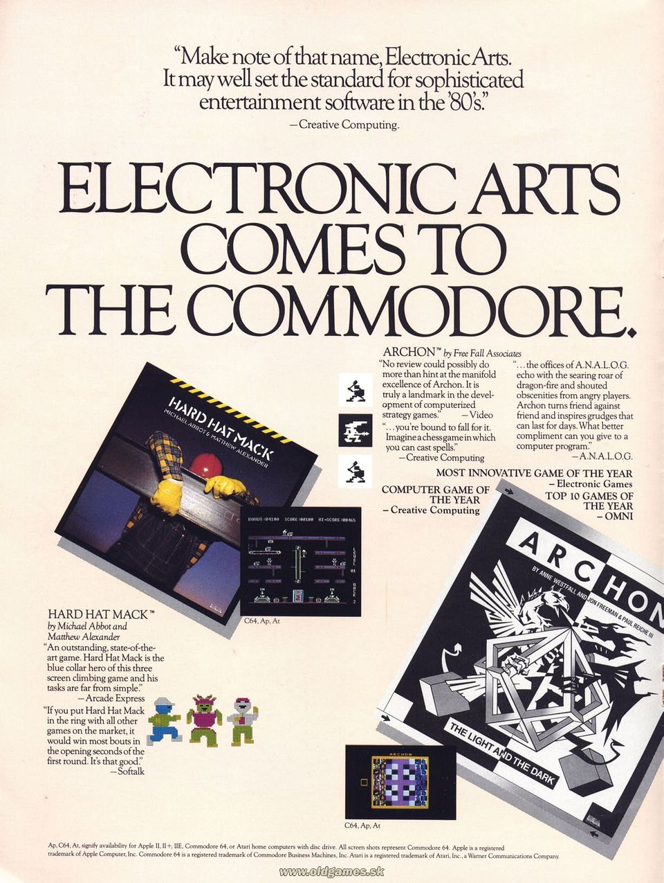 Advertisement: Electronic Arts