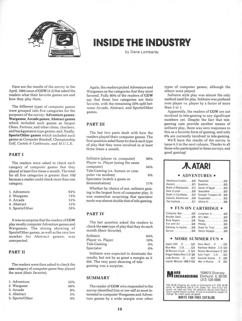 Inside the Industry