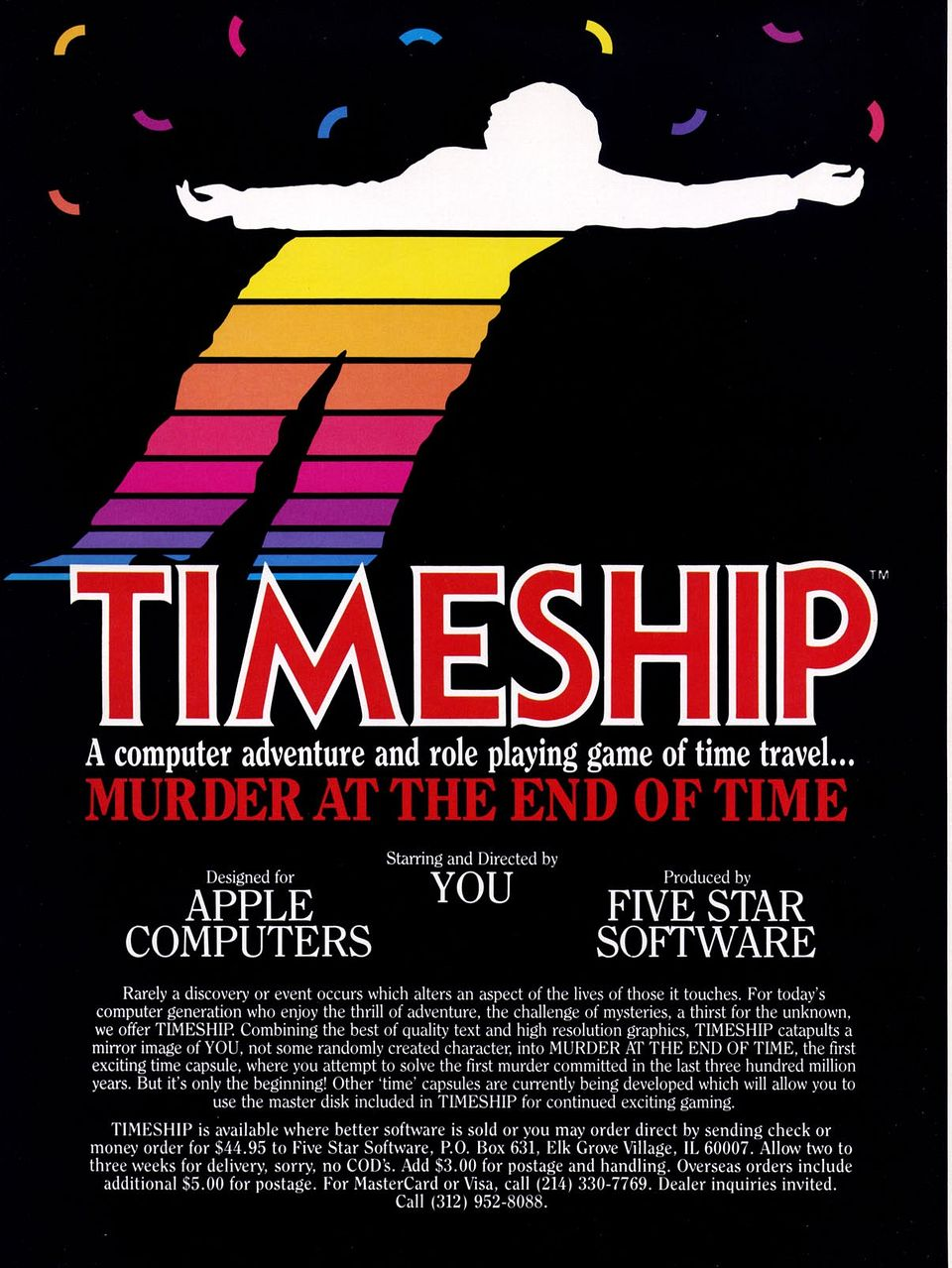 Advertisement: Timeship