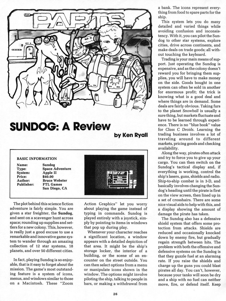 Sundog: A Review