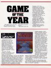CGW Game of the Year Awards (1985)