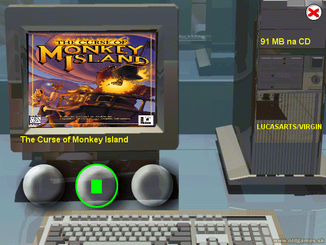 Demo: The Curse of Monkey Island