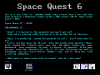 Space Quest 6 - Návod (Hint book - English)