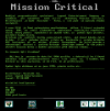 Mission Critical - Demo