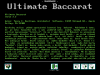 Ultimate Baccarat - Shareware