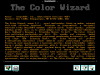 The Color Wizard v2.1 (Shareware)