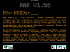 RAR v1.55 (Shareware)