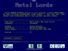 Demo: Metal Lords