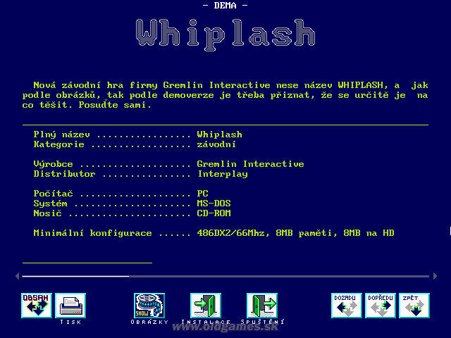 Demo: Whiplash