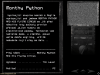 Demo: Monthy Python and His Flying Circus