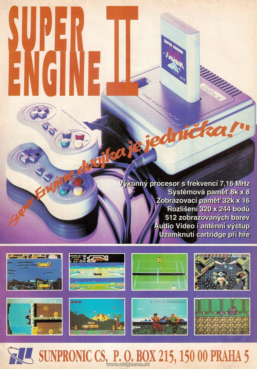 reklama: Super Engine II