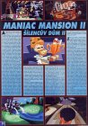 Maniac Mansion 2, Návod