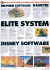 Delphine, Gametek, Elite Systems, Disney