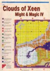 Might and Magic IV: Clouds of Xeen, Mapa