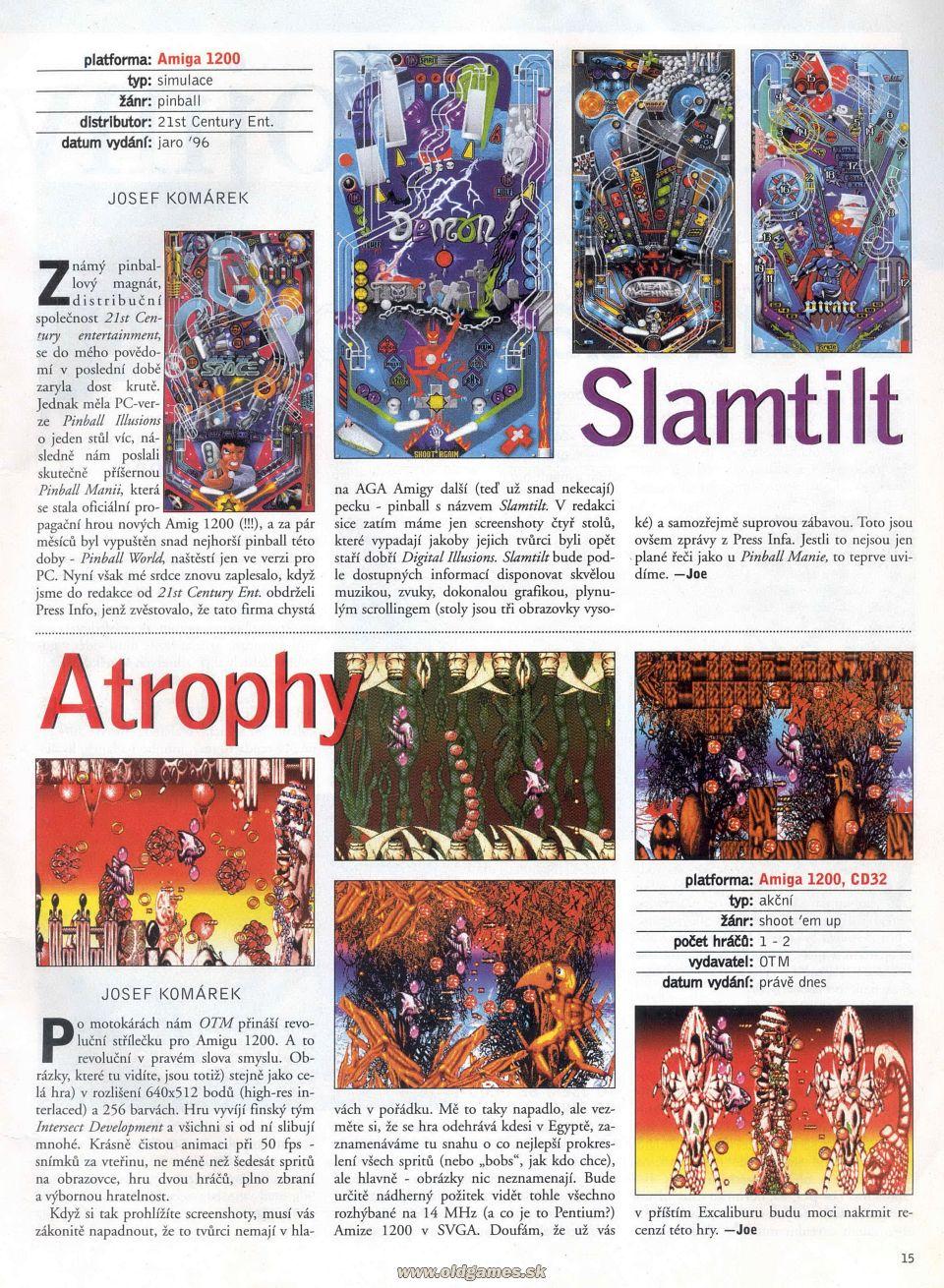 Slamtilt Slamtilt! Twist'N'Slam