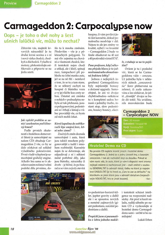 GameStar 0/98 :: Magazine  GameStar 0/98 :...