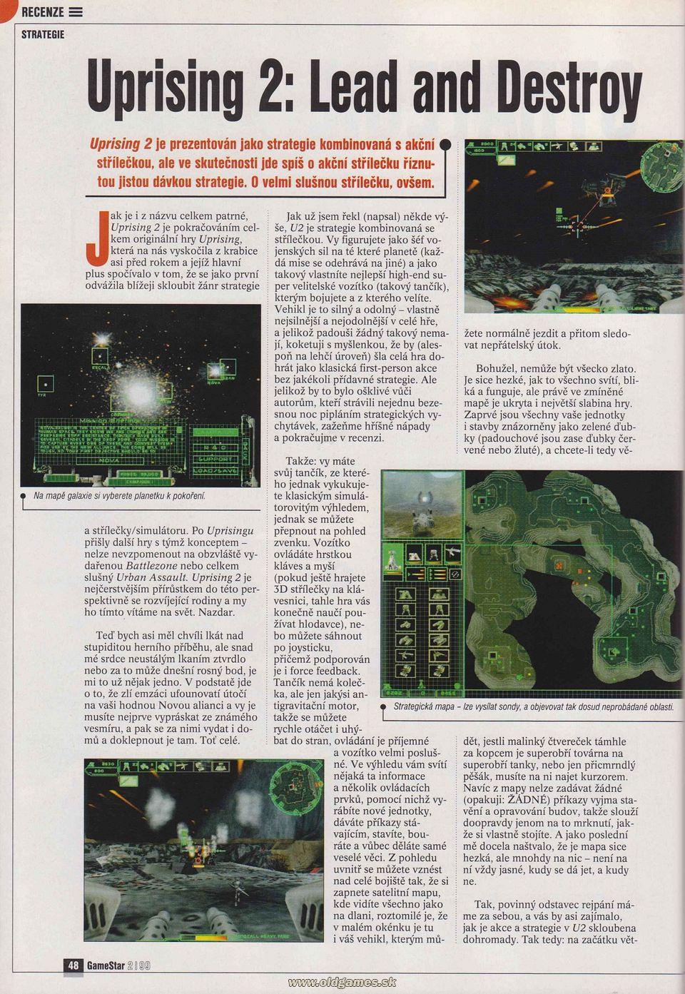 GameStar 2/99 :: Magazine  GameStar 2/99 :...