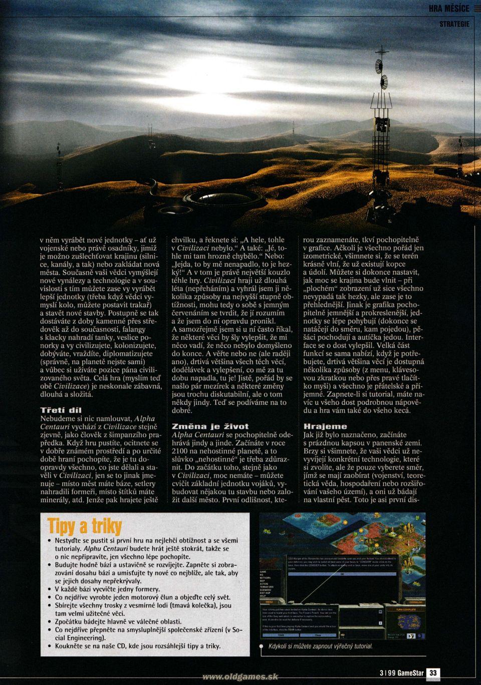 GameStar 3/99 :: Magazine  GameStar 3/99 :...