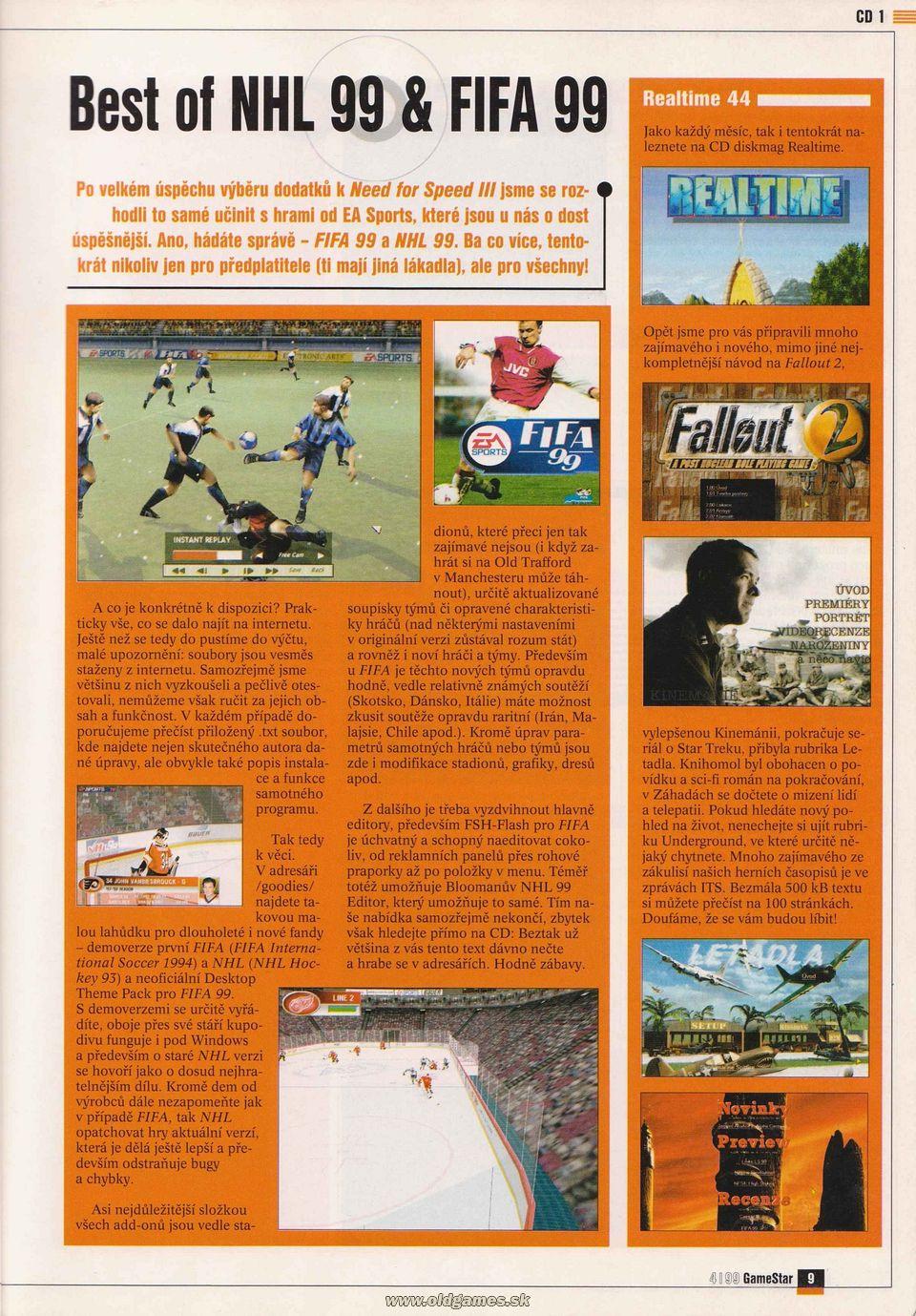 GameStar 4/99 :: Magazine  GameStar 4/99 :...