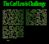 The Carl Lewis Challenge