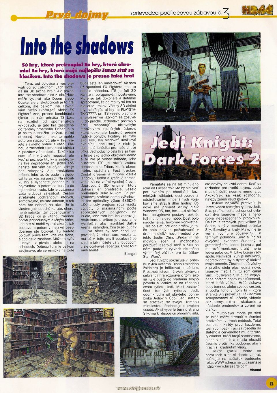 Preview: Into the Shadows, Jedi Knight - Dark Forces 2