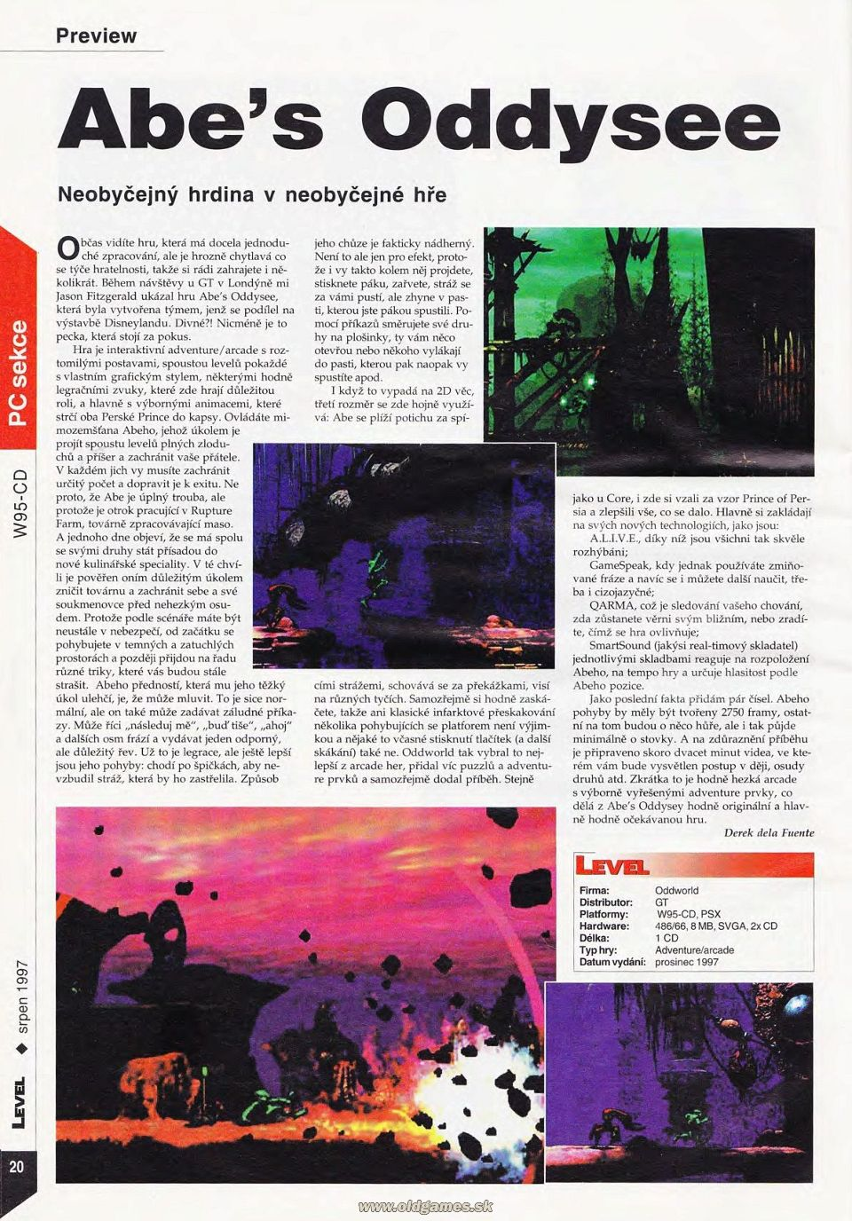 Preview: Abe's Oddysee