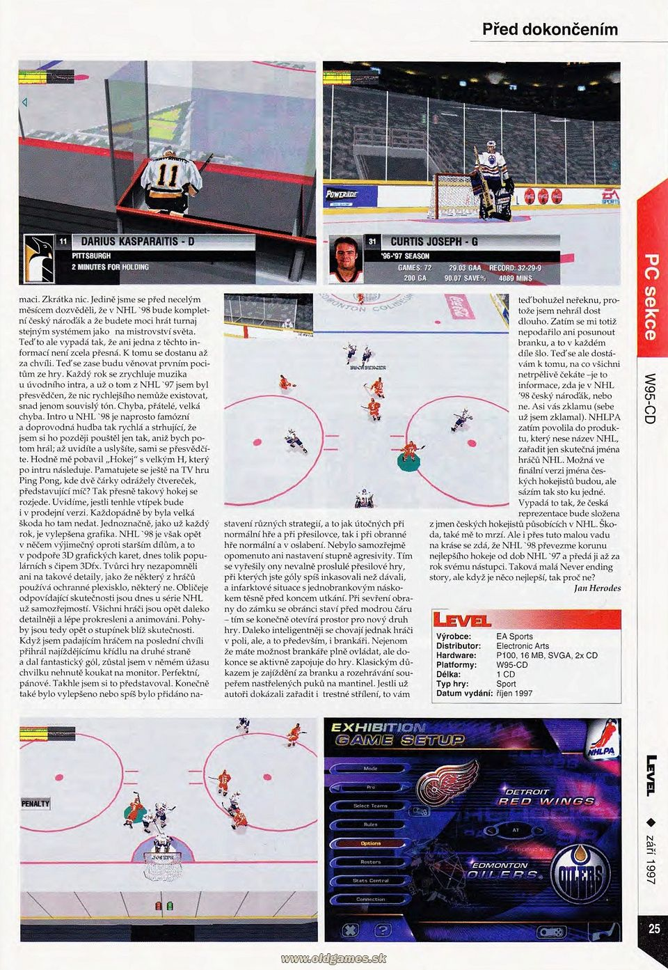 Preview: NHL 98