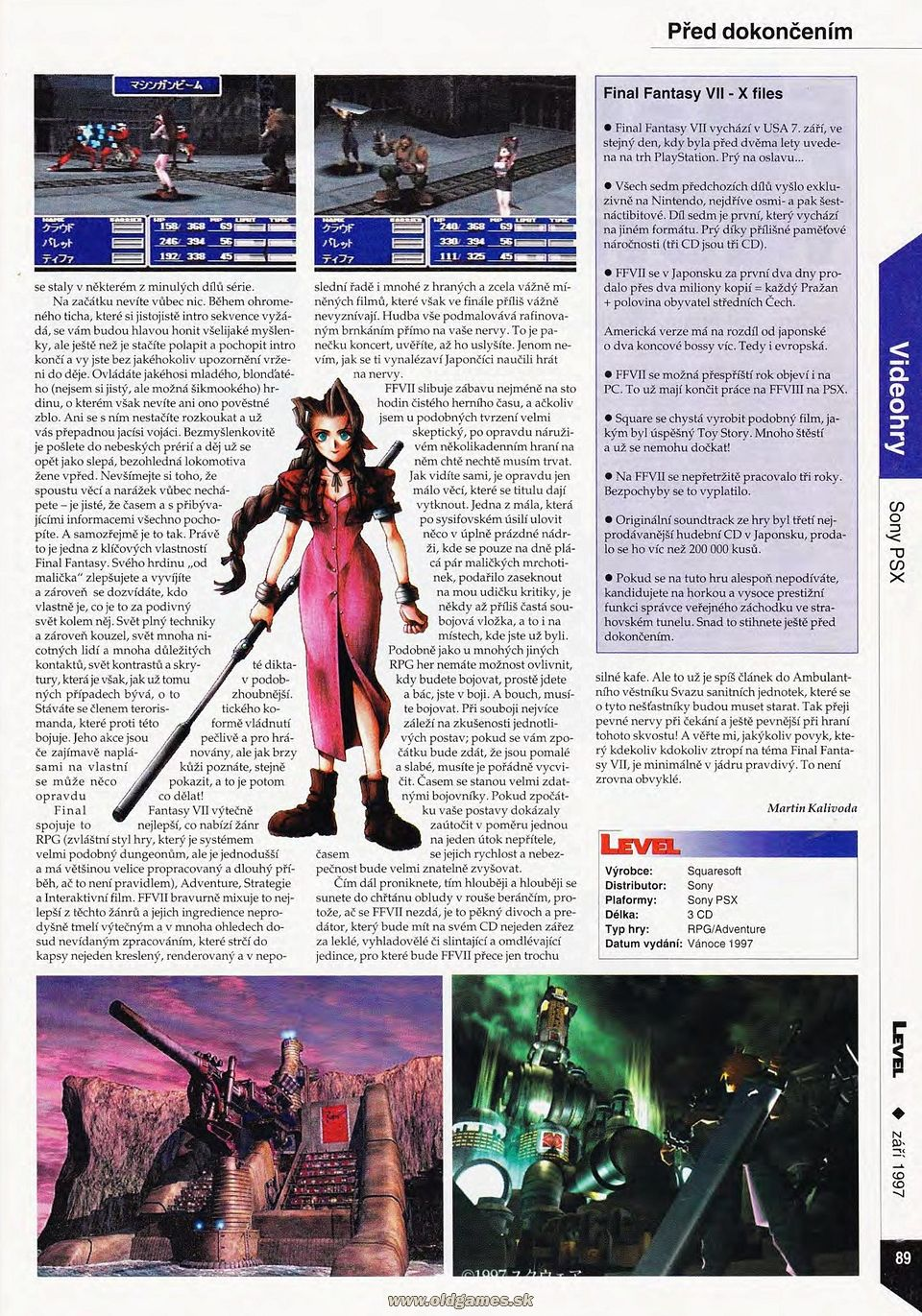 Preview: Final Fantasy VII