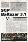 Software: SGP Balthazar 3.1